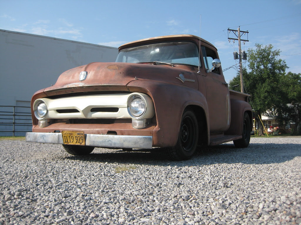 1956 Ford F100 - The Ford Barn
