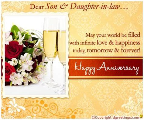 Dgreetings   Son And Daughter In law Anniversary