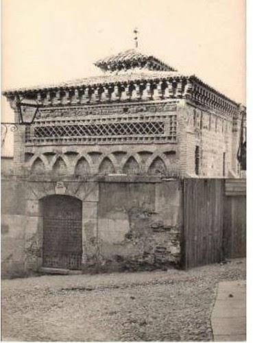 Mezquita del Cristo de la Luz (Toledo), a principios de siglo. Foto Castañeira y Álvarez