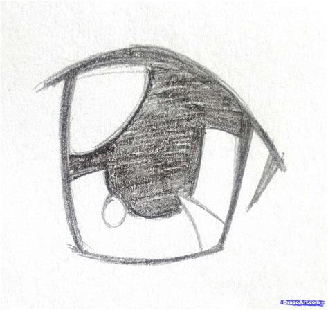 draw anime eyes step  step anime eyes anime