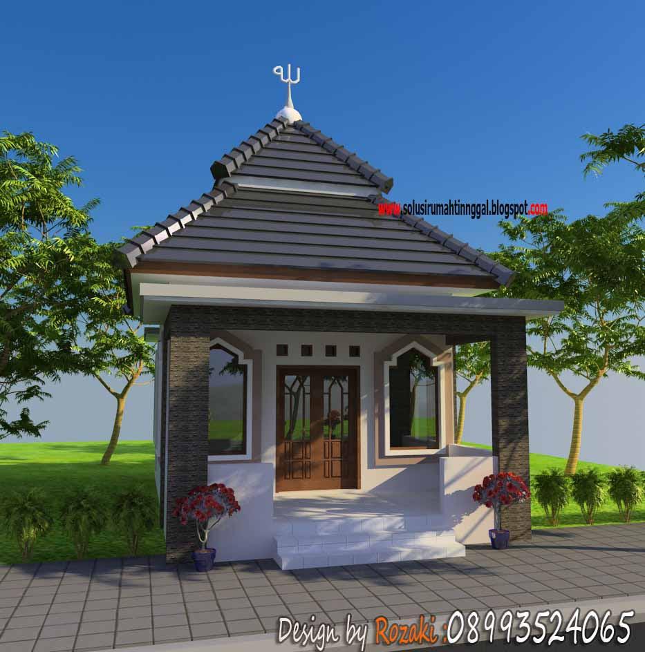Mushola Minimalis  Layanan Jasa Gambar Arsitek