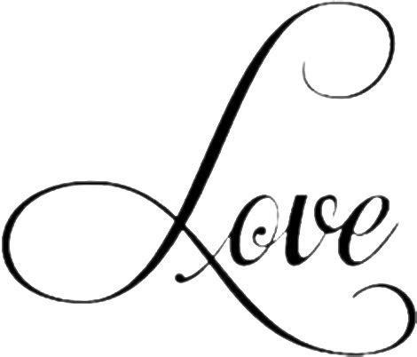 love lettering word cursive   Sticker by bella