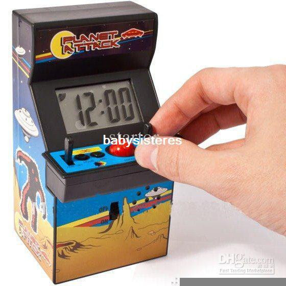 Wholesale - high quality Arcade Game Table Clock with Joystick