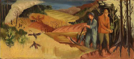 «Reforestation», Hollis Holbrook, 1940