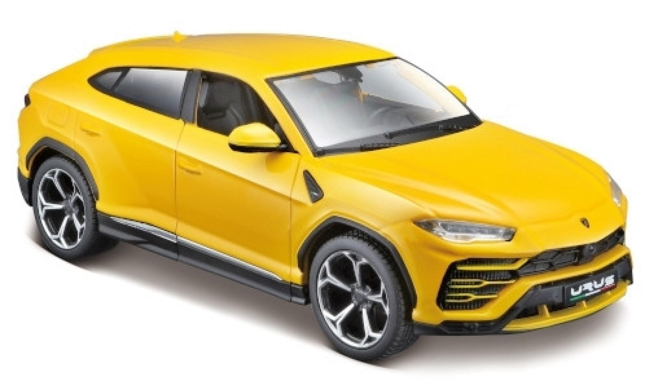 Diecast model cars Lamborghini Urus 1/24 Maisto yellow ...