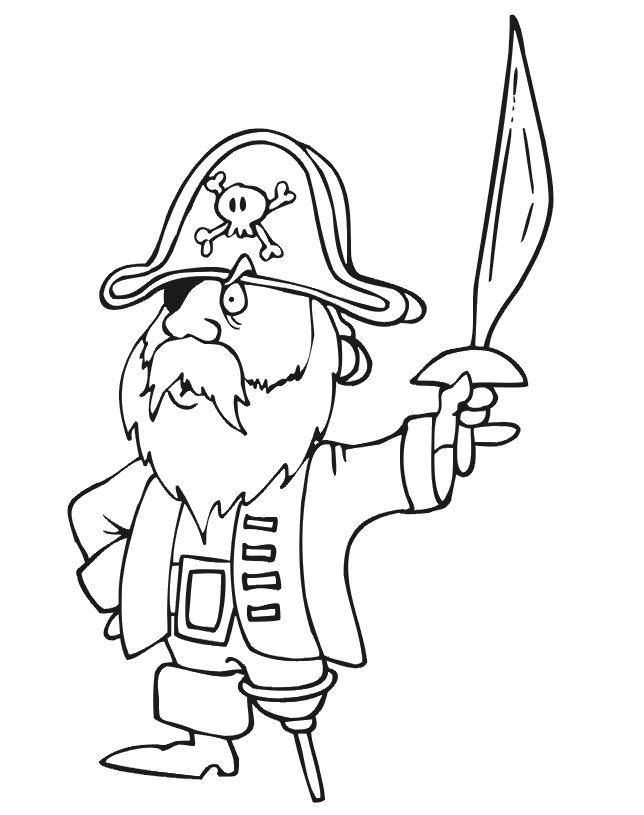 209 Dessins De Coloriage Pirate à Imprimer Sur Laguerchecom Page 19