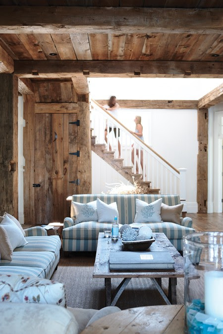 Rustic Living Room Colors