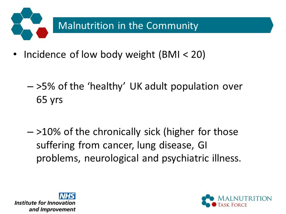 Malnutrition in later life  the Challenge  ppt download