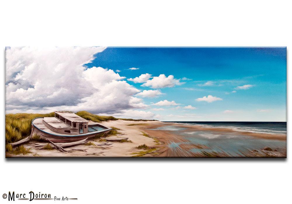 Dessin Et Peinture Vidéo 658 Quand La Mer Se Retire Peinture