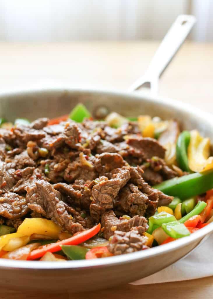 Korean Beef Bulgogi | barefeetinthekitchen.com