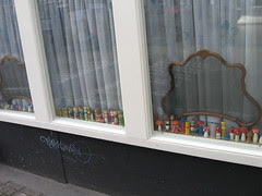 collection in window