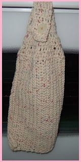 Free Crochet Hanging Dish Towel Pattern