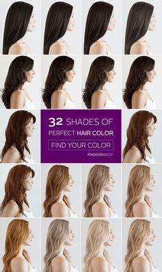 hair color names     darkest black  lightest blonde  images madison reed