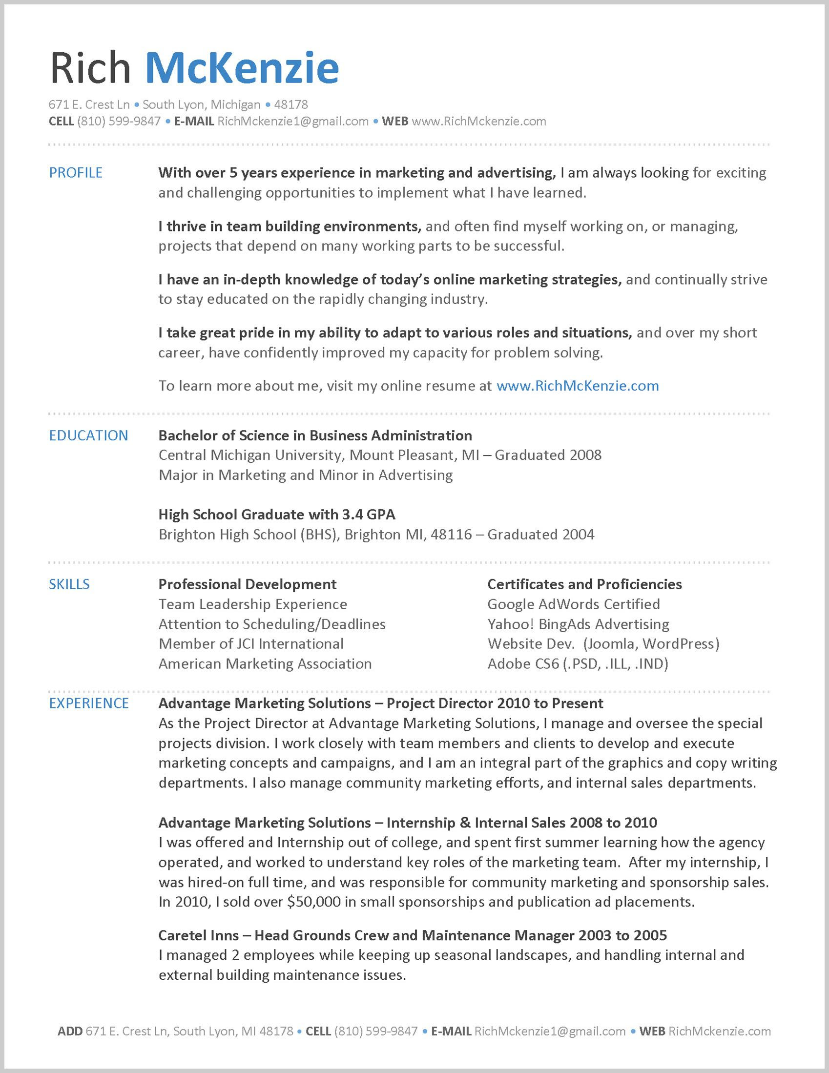 25 Inspirational My Resume Sample Best Resume Examples