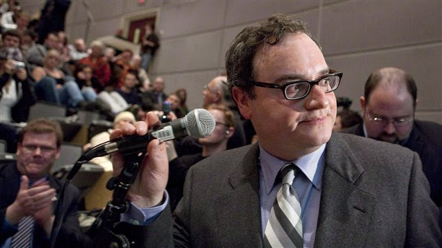 Ezra Levant, ancien commentateur politique de Sun News et propriétaire du site conservateur The Rebel