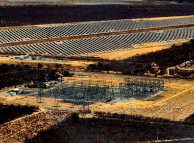 Considerado maior do país, parque de energia solar é inaugurado em Bom Jesus de Lapa