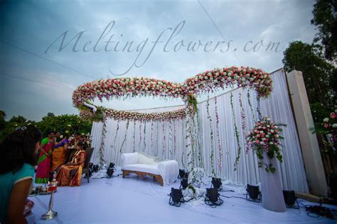 Wedding Backdrop Decoration and Wedding Stage Decoration