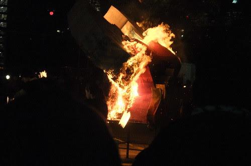 Solsticefire sculpture