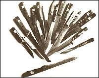 Ножовете открити в дома на Чикатило