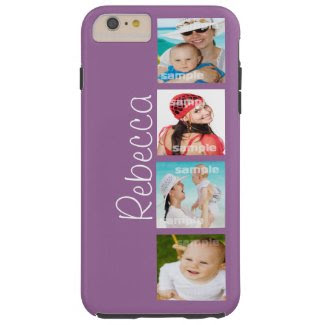 Custom Photo Collage Customizable Tough iPhone 6 Plus Case