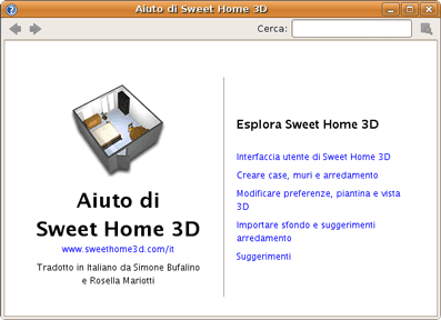 Guida a sweet home 3d software open source per il disegno for Disegno 3d online