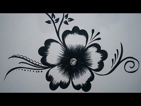 80 Gambar Sketsa Bunga Sakura Mudah Terlihat Keren