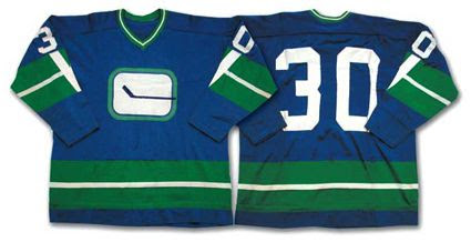 Vancouver Canucks 1970-71 road jersey