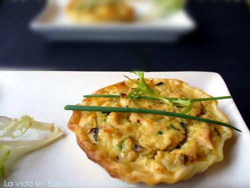 Torta de frango e champignons