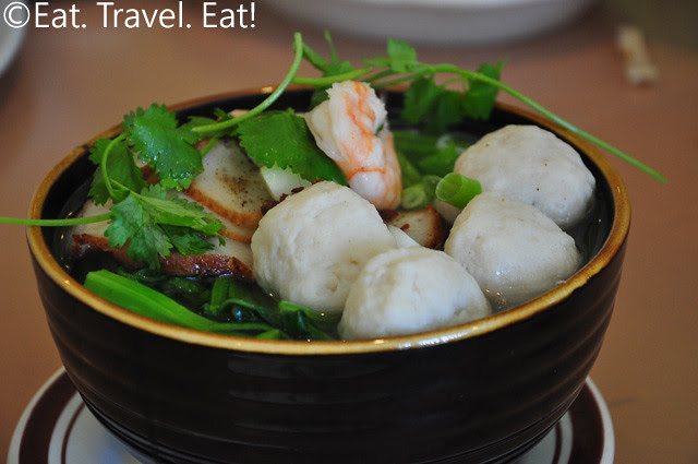 Seafood Vermicelli Soup