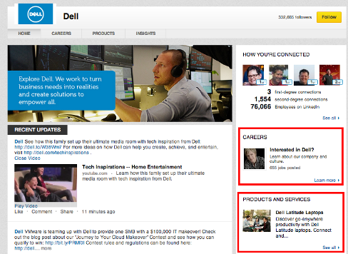 dell sidebar features