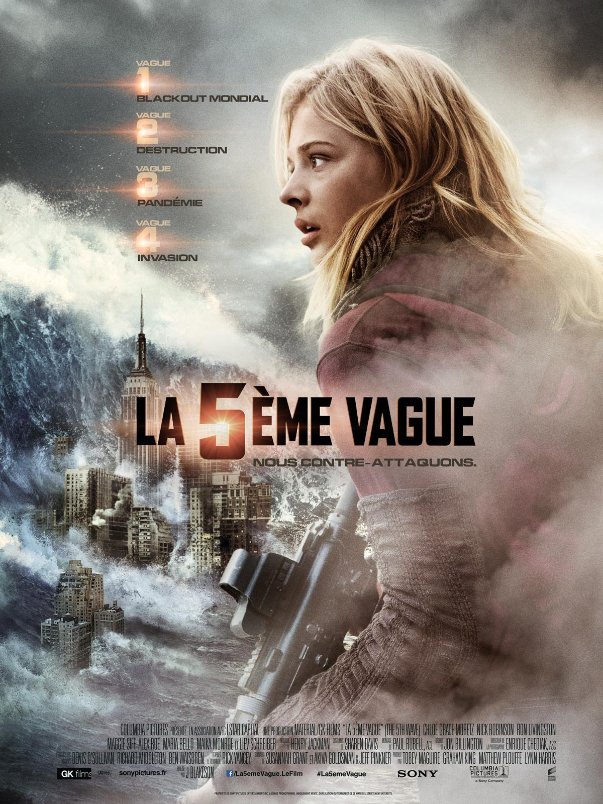La 5ème vague : Affiche