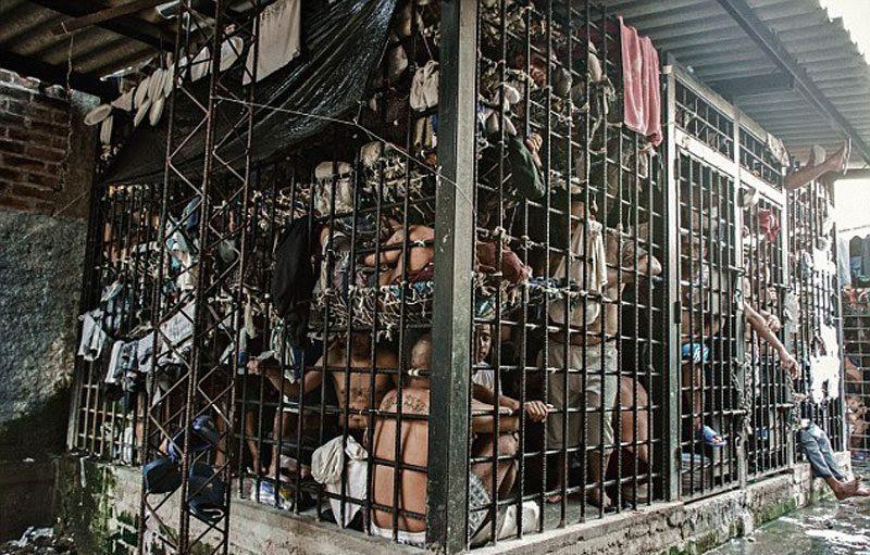 Jail in                                                            El Salvador
