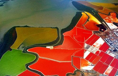 634878493296700000 Tuyệt vời sắc màu của ruộng muối ở San Francisco