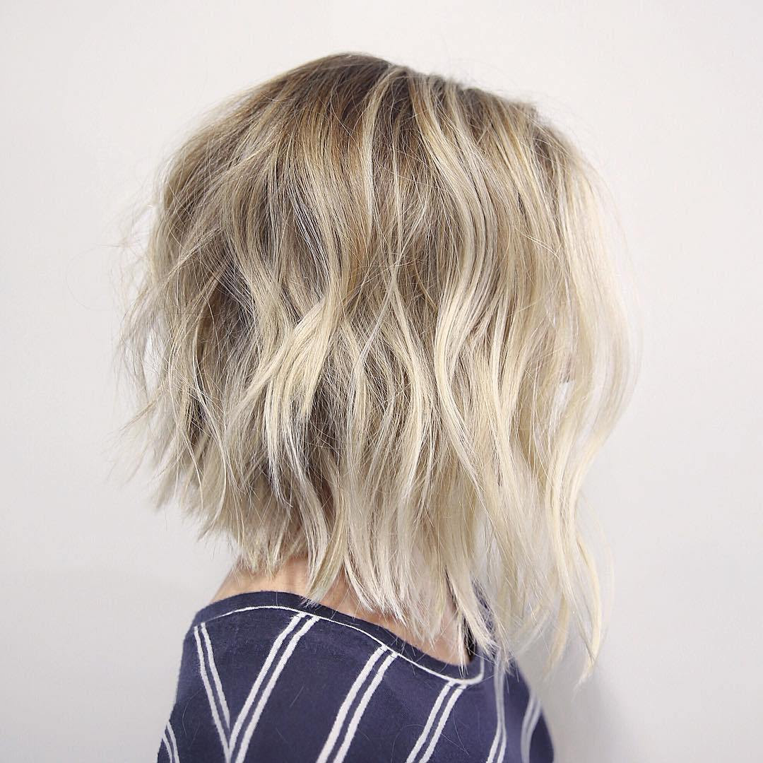 30 Cute Messy Bob Hairstyle Ideas 2018 Short Bob Mod Lob