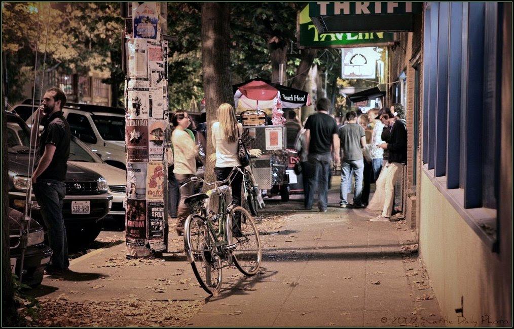 Fall Evening Ballard Avenue