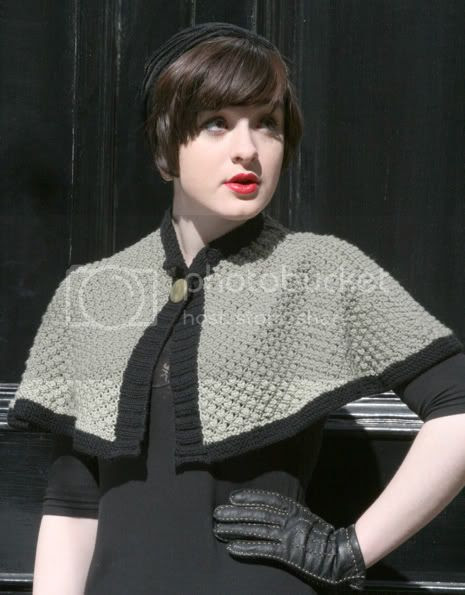 Tufted cape 5
