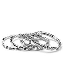 Metal Mesh Bracelet by CATHERINES
