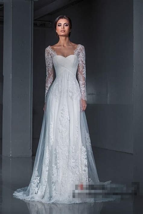 Popular Wedding Dress 2016 Long Sleeves Princess