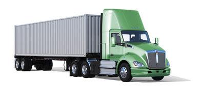 Illustration of Kenworth fuel cell hybrid drayage truck (CNW Group/Ballard Power Systems Inc.)