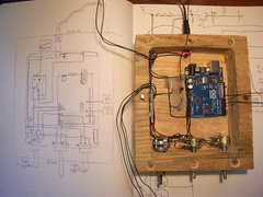 Circuit diagram for automaton head in practise