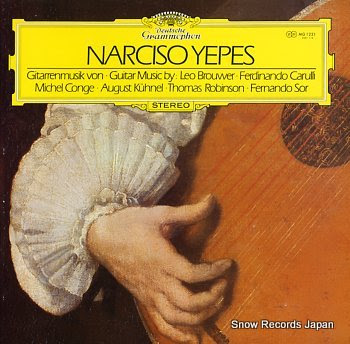 YEPES, NARCISO kuhnel; suite in a major