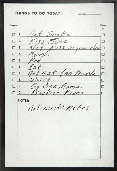 Johnny Cashs To Do List Funny Pictures Quotes Pics Photos