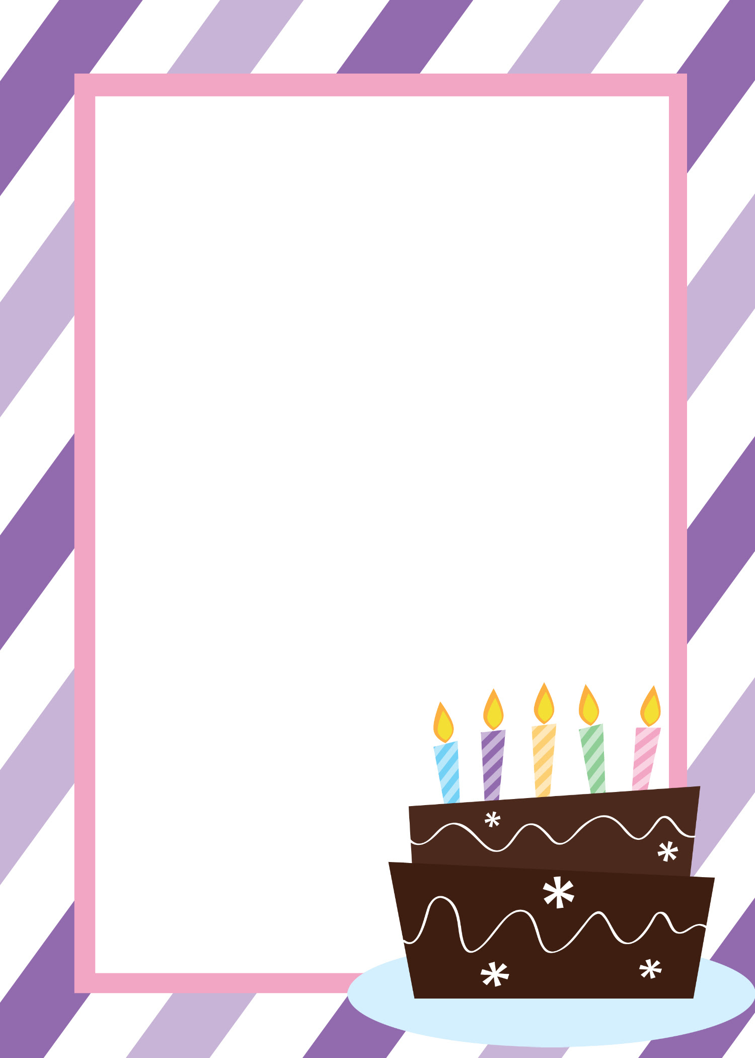 BlankBirthdayInvitationTemplate