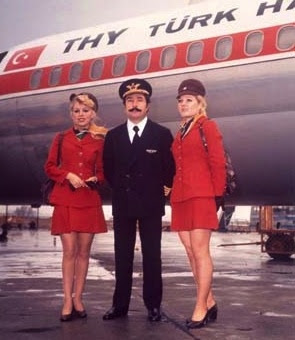 Photo of Turkish Airlines in 1989