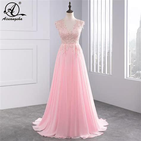White Ivory Pink Wedding Dresses 2018 Long New Charmming V