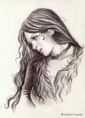 Fille Pleure Dessin Triste