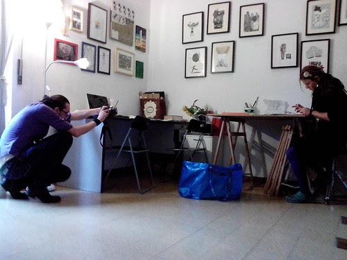 Emiliano Zucchini fotografando.. by Ylbert Durishti