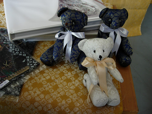Songket teddy bears