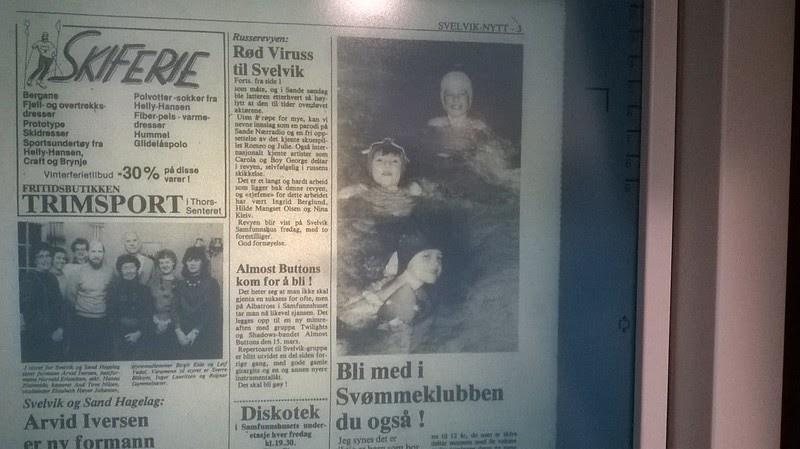 387706a8 johncons: Vår klasse, (på Svelvik ungdomsskole), hadde Marit Enger, som  svømme-lærerinne. Så jeg ante ikke, at vår klasseforstander, (på den samme  skolen), ...