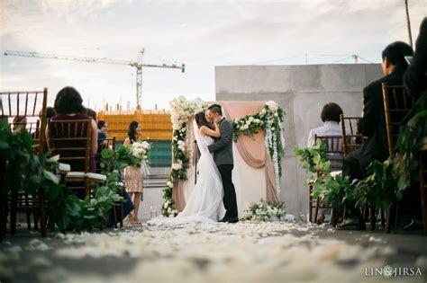Hudson Loft Downtown LA Wedding   Vy & Chris